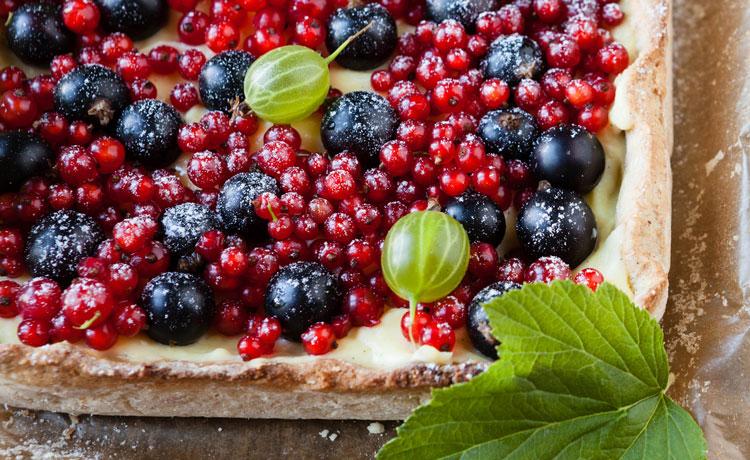 Reformi Luomu Gluteeniton marjapiirakka